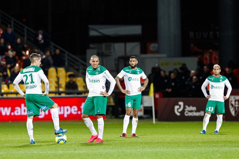 Romain Hamouma et Wahbi Khazri sont forfaits pour le derby OL - ASSE.