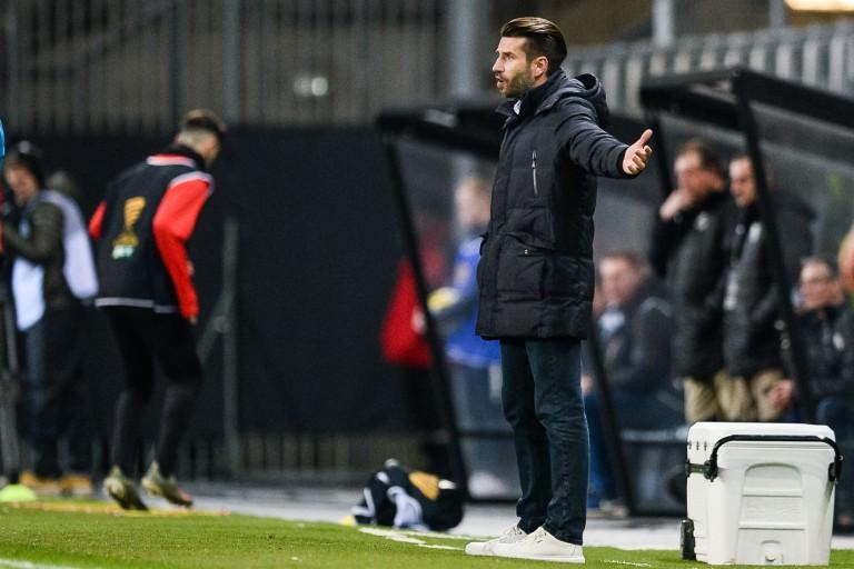 Luka Elsner, entraineur d' Amiens SC