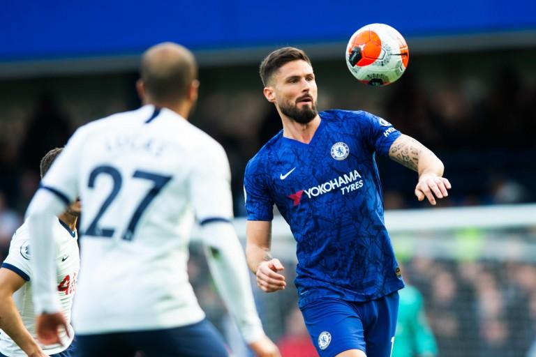 Chelsea : Olivier Giroud marque contre Tottenham