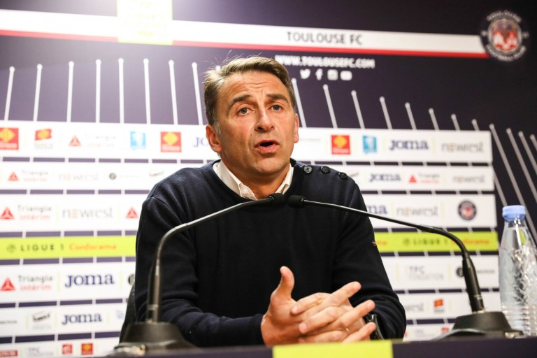 Olivier Sadran, président du Toulouse FC