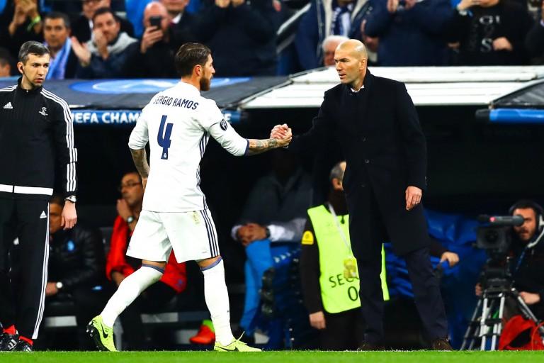 Le défenseur s'est montré très élogieux envers son entraîneur, ZInédine Zidane
