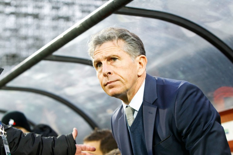 Claude Puel, entraineur de l'ASSE