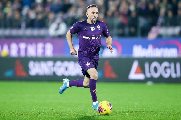 Franck Ribery, attaquant de la Fiorentina