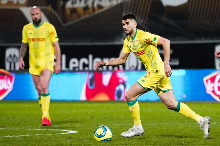 Mehdi Abeid en action au FC Nantes.