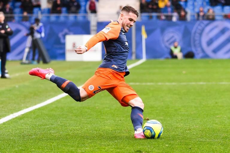 Mihailo Ristic, défenseur du Montpellier HSC
