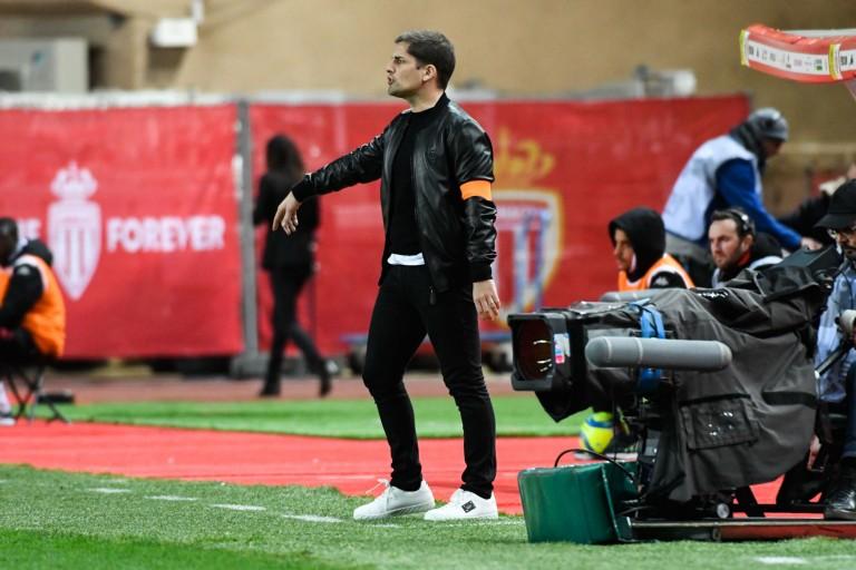 Robert Moreno, entraineur de l'AS Monaco