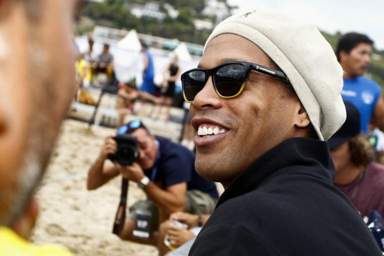 Ronaldinho toujours en prison au Paraguay