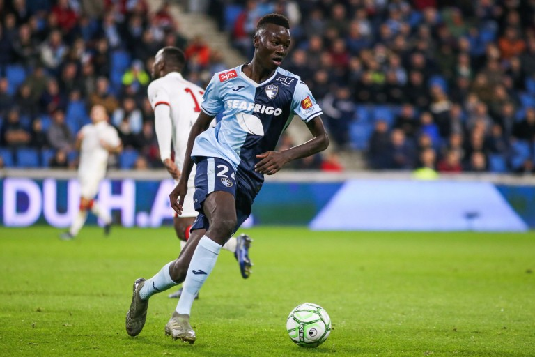 Pape Gueye, milieu défensif du Havre AC, rejoint Watford