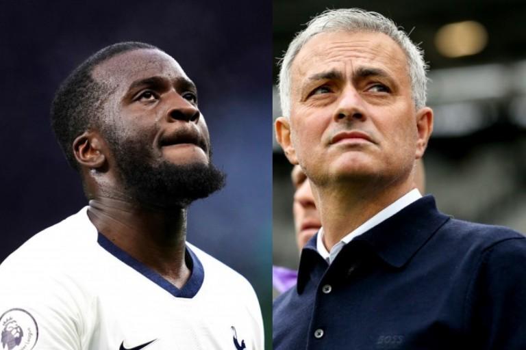Tottenham : José Mourinho et Tanguy Ndombele rappelé à l'ordre