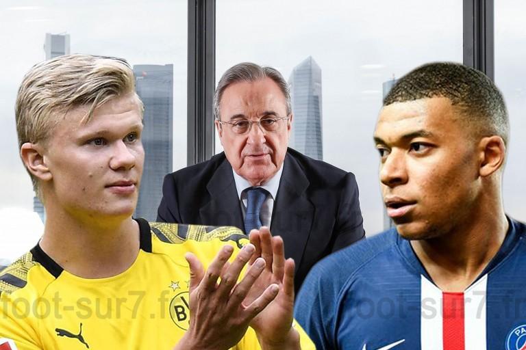 Real Madrid -PSG : Kylian Mbappé - Erling Haaland et Florentino Perez