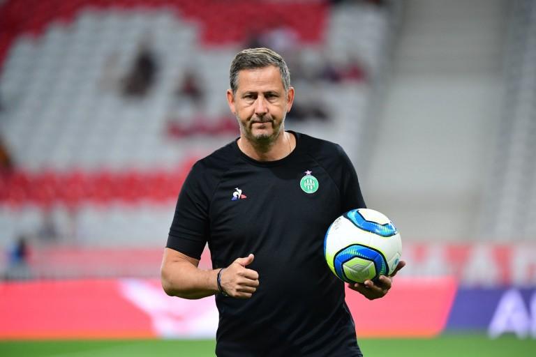Fabrice Grange, coach des gardiens de but de l'ASSE