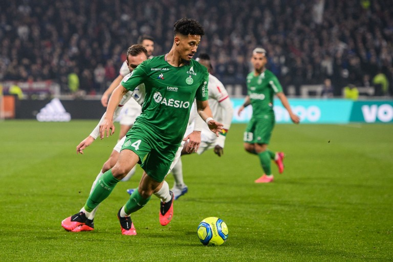 William Saliba, défenseur de l' ASSE transféré à Arsenal
