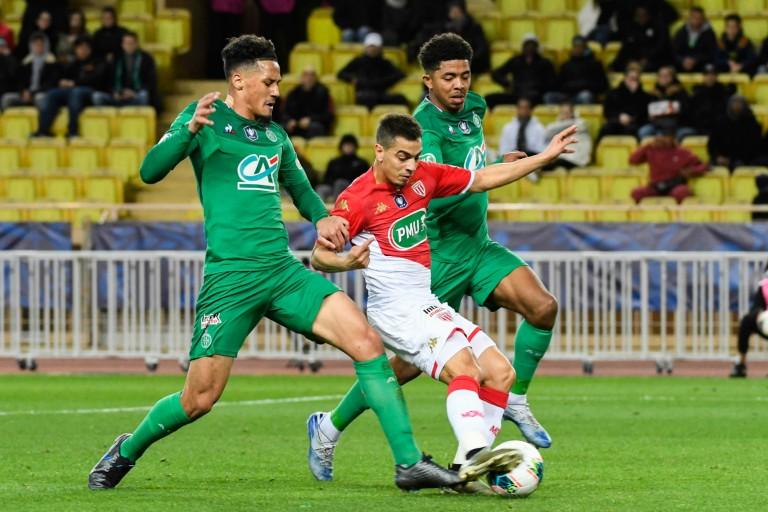 ASSE : William Saliba et Wesley Fofana contre Wissam Ben Yedder.