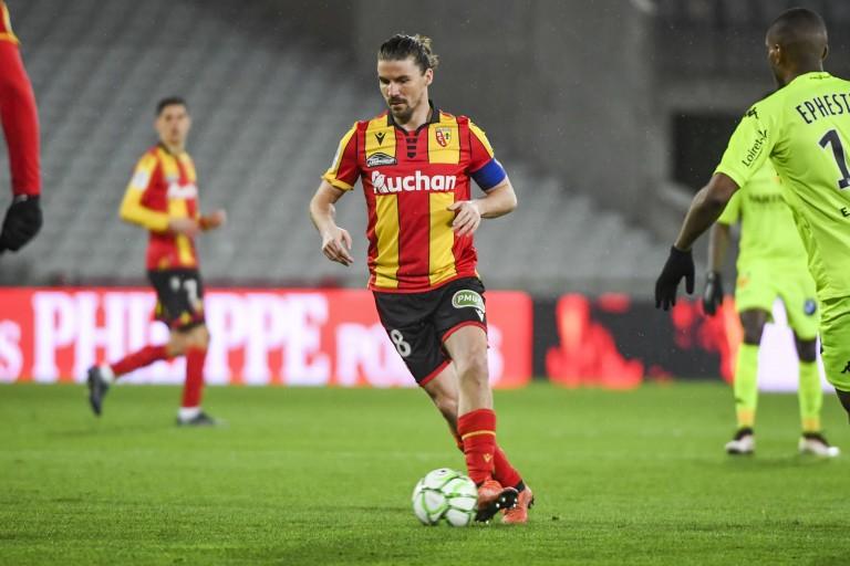 Yannick Cahuzac, capitaine du RC Lens