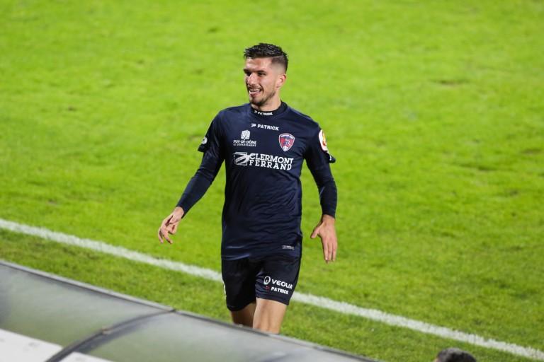 Attaquant de Clermont, Adrian Grbic ne rejoindra pas le Stade Brestois cet été
