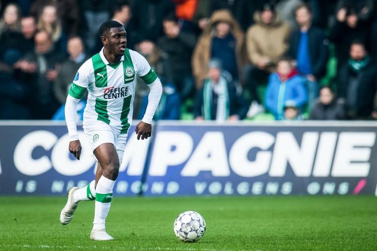 Azor Matusiwa, milieu défensif du FC Groningue visé par le RC Lens
