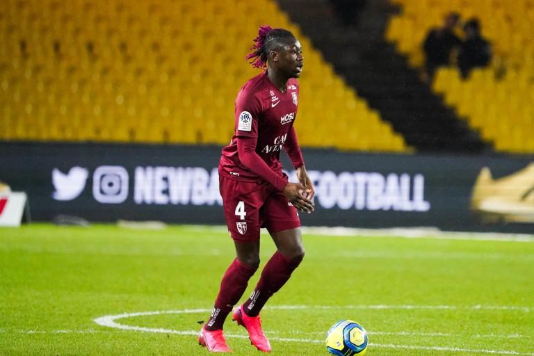 Kévin N'Doram (FC Metz) visé un temps par le RC Lens