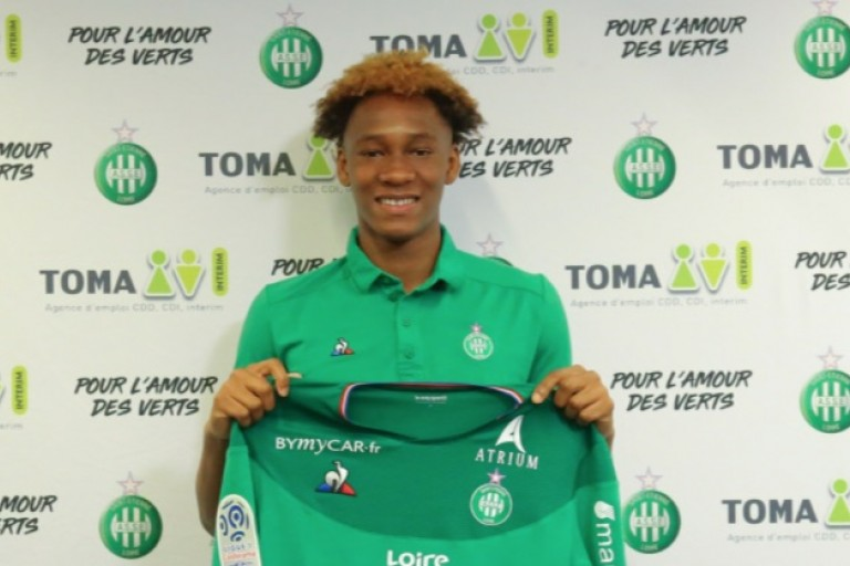 Mercato ASSE : Mathys Saban signe pro à l'AS Saint-Étienne