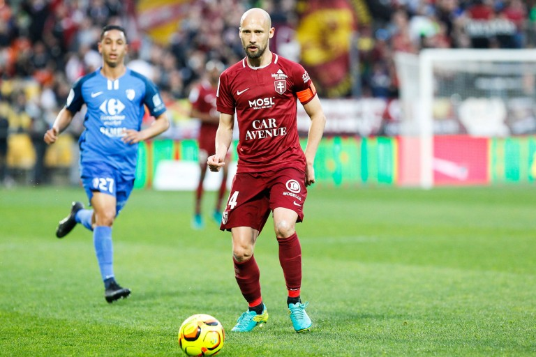 Renaud Cohade, milieu de terrain en fin de contrat au FC Metz