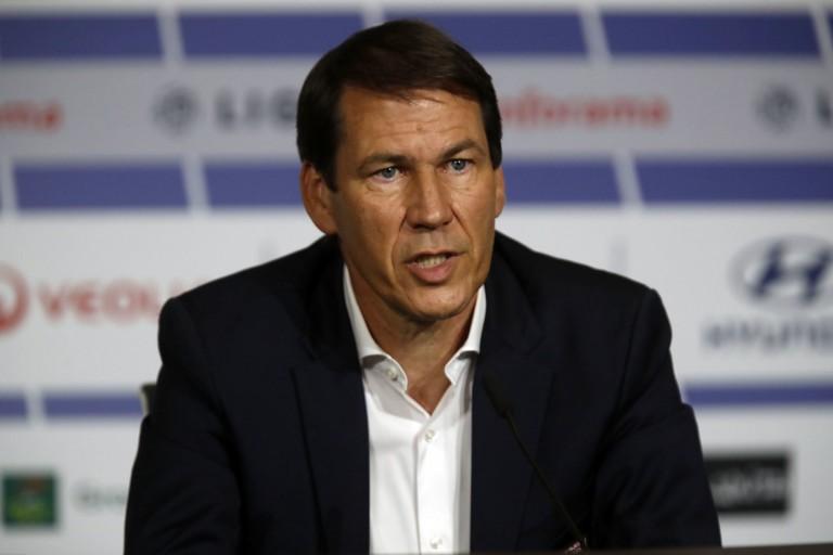 Rudi Garcia, coach de l' OL