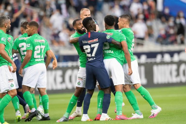 Tension entre l'ASSE et le PSG en finale de la coupe de France