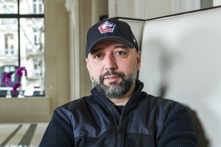 Gérard Lopez président du LOSC chambre le RC Lens