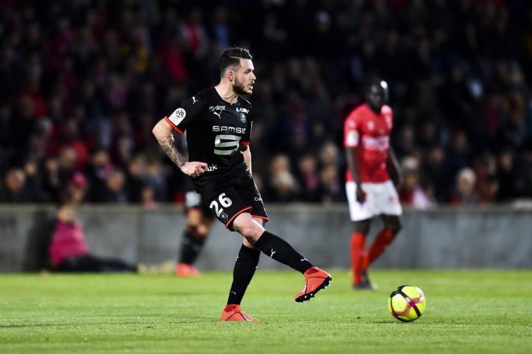 Jérémy Gélin, défenseur du Stade Rennais visé par le RC Lens