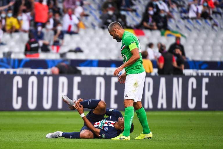 Loïc Perrin avait blessé Kylian Mbappé lors de PSG-ASSE