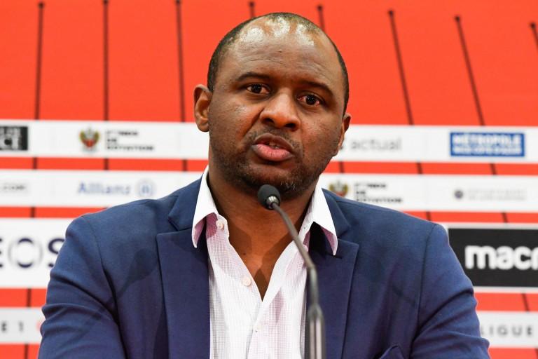Patrick Vieira, entraineur de l'OGC Nice