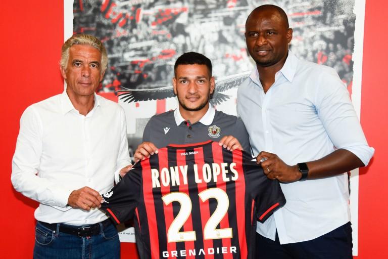 Rony Lopes, nouvelle recrue de l'OGC Nice
