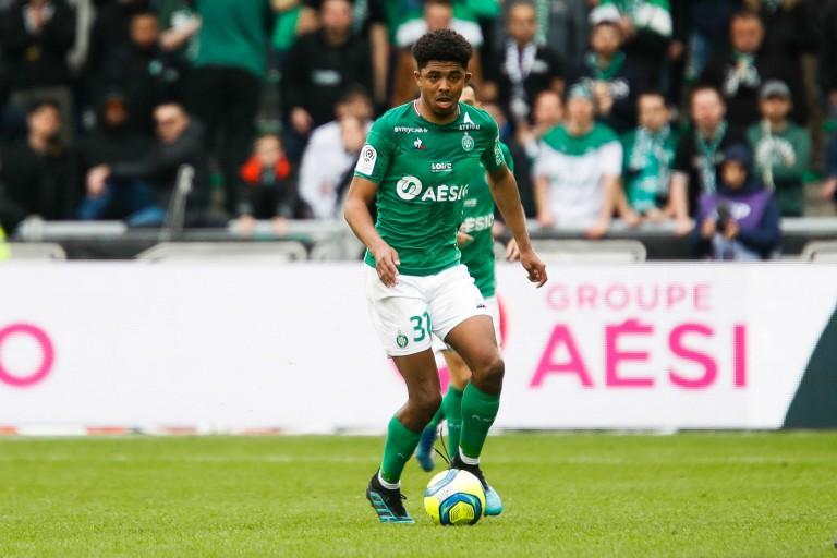 Wesley Fofana, défenseur central de l'ASSE.