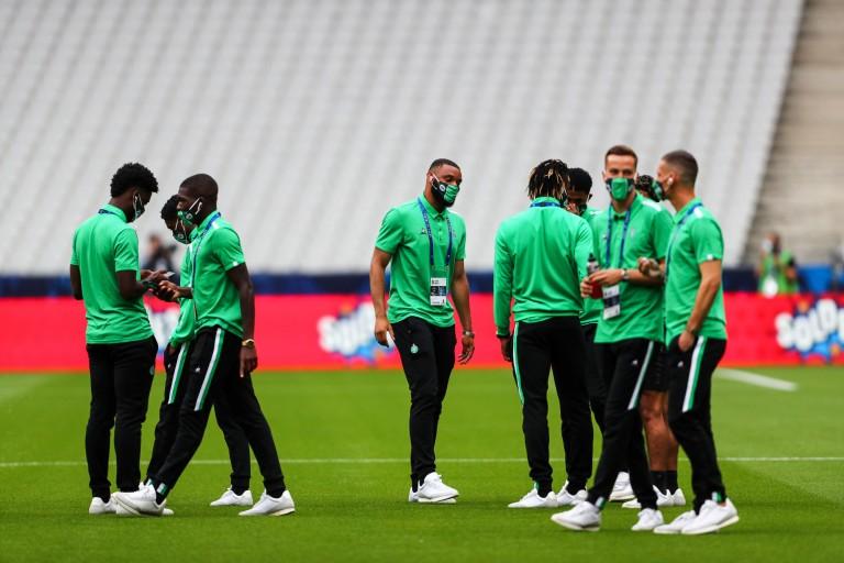 L'ASSE, avant la finale contre le PSG, en coupe de France
