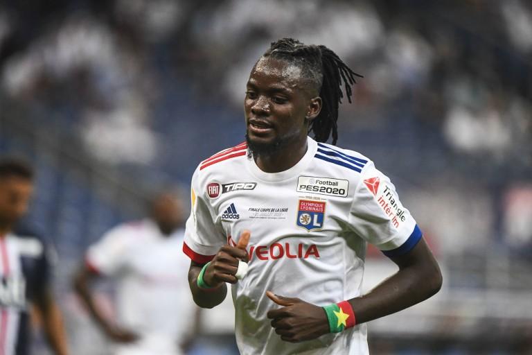 Bertrand Traoré, attaquant de l'OL