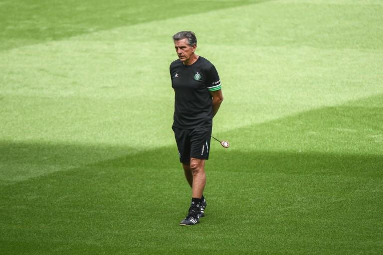 Claude Puel, le coach de l'ASSE, a besoin d'un attaquant
