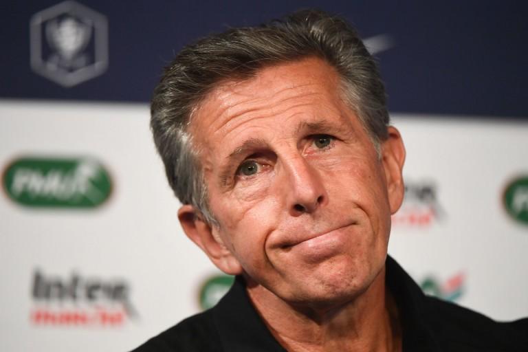 Claude Puel, entraîneur et manager général de l'ASSE.