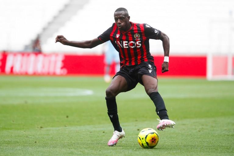 Hassane Kamara, défenseur de l'OGC Nice.