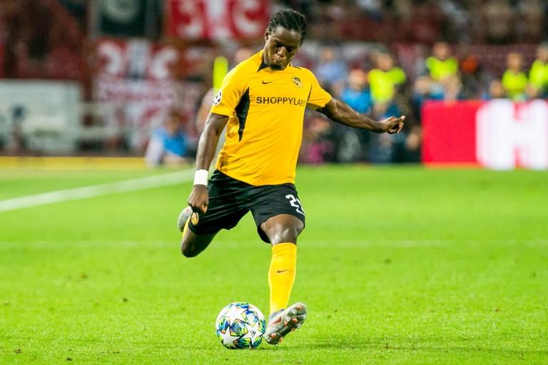 Jordan Lotomba, défenseur latéral recruté par l'OGC Nice