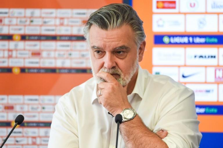 Laurent Nicollin, président du Montpellier HSC