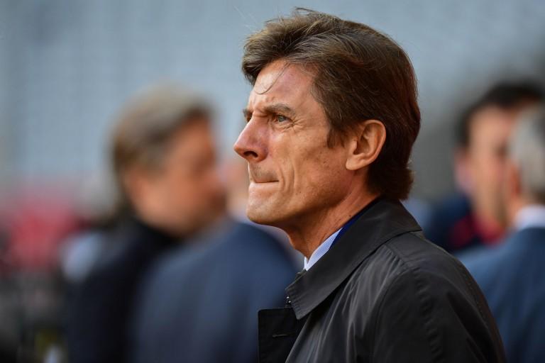 Frédéric Longuépée, président des Girondins de Bordeaux