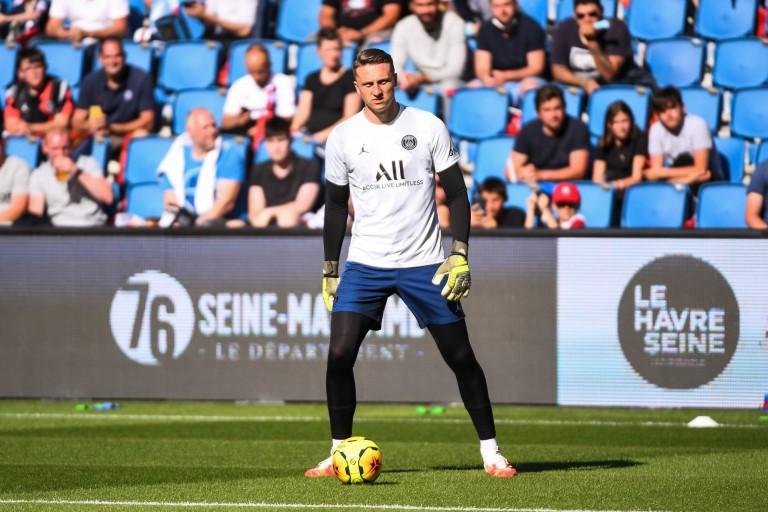 Marcin Bulka, gardien de but du PSG