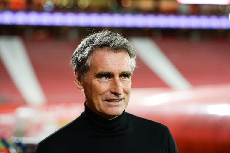 Olivier Dall'Oglio, entraineur du Stade Brestois.
