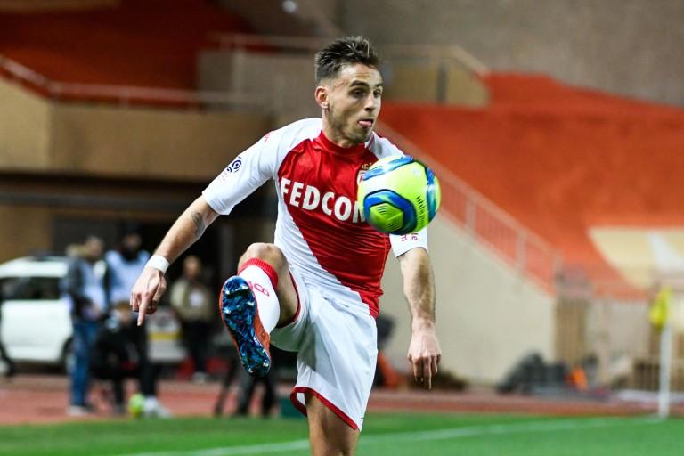 Ruben Aguilar, défenseur de l'AS Monaco recruté au Montpellier HSC en août 2019