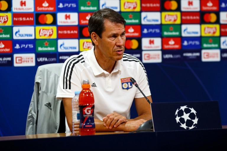 Rudi Garcia, entraineur de l'OL.