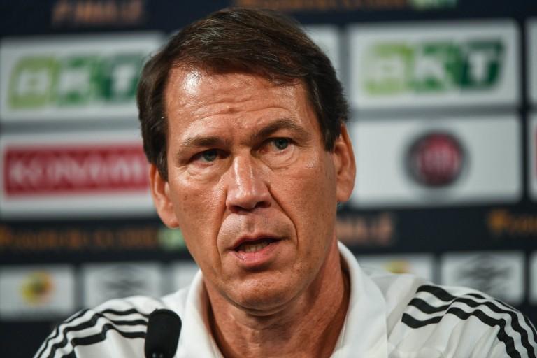Rudi Garcia, entraineur de l'OL