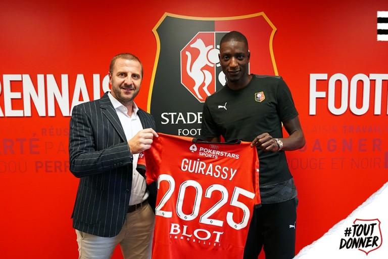 Stade Rennais : le transfert de Serhou Guirassy officialisé