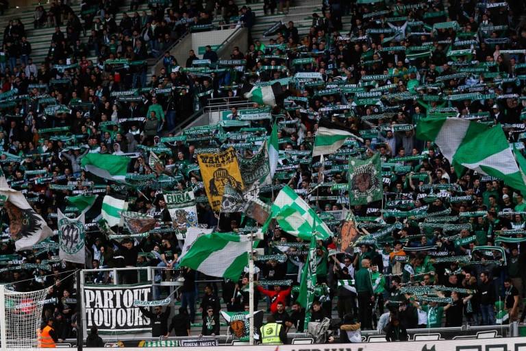 Les supporters de l'ASSE mécontents après le derby.