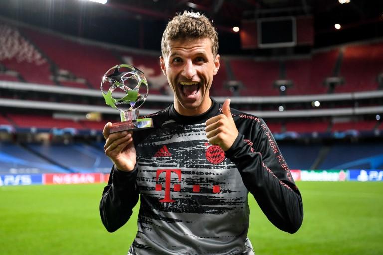 Thomas Müller rêve d'un triplé historique pour le Bayern Munich