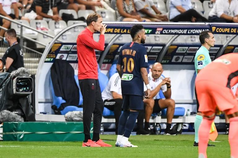 Neymar ménagé par Thomas Tuchel contre le FC Sochaux