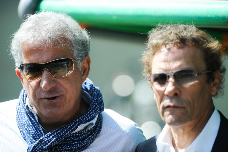 Vente de l'ASSE : Bernard Caïazzo et Roland Romeyer, les deux président de l'ASSE.