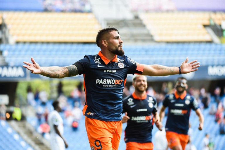 Andy Delort, attaquant du Montpellier HSC